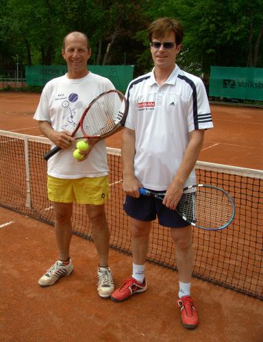 Joaching Gersdorf und Tomas Kieninger