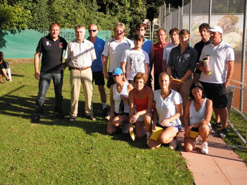 Teilnehmer der Doppel-Stadtmeisterschaft
